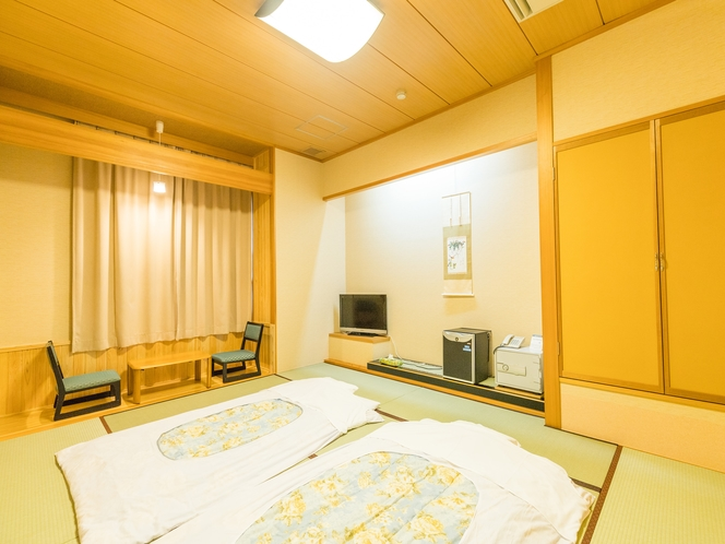 和室1~4人部屋(バス無し・トイレ有) お布団