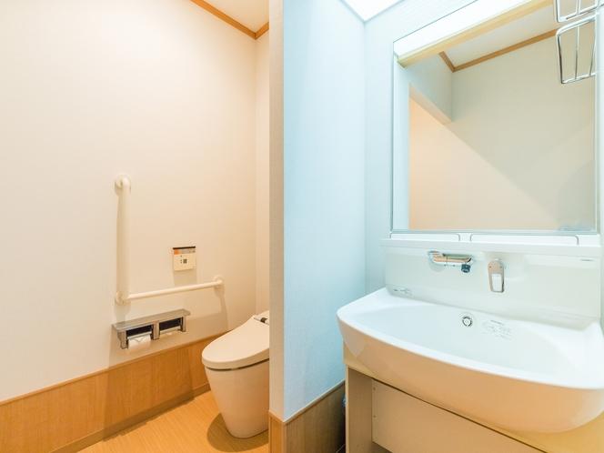 和室1~5人部屋(バス無し)洗面所 ※洗面所・トイレ無しのお部屋もございます。