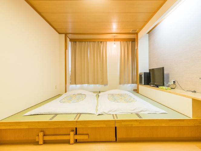 和室1~3人部屋(バス無し・トイレ有)お布団