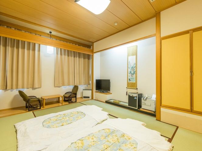 和室1~5人部屋(バス無し) お布団