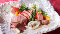 豊後牛ステーキ一例