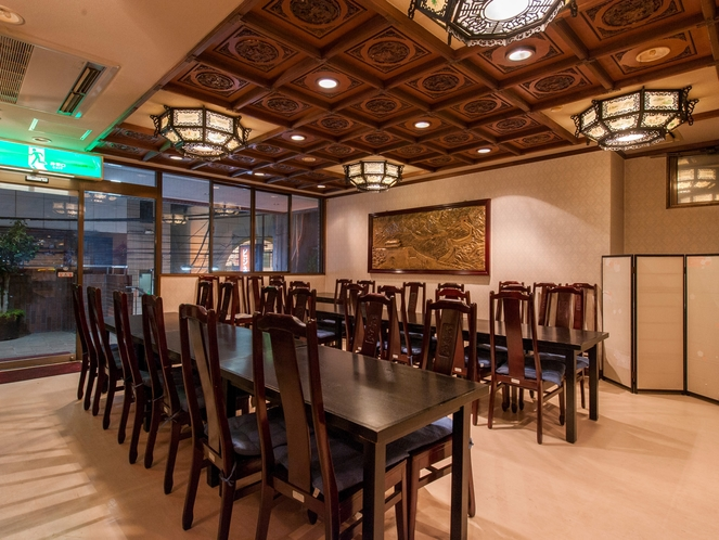 寿々屋ホテル2F 中国料理萬嵐