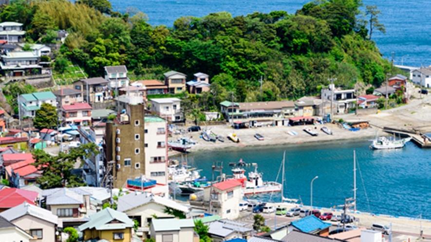 **【真鶴港】新鮮な真鶴の海の幸をいただいた後は琴ヶ浜をのんびりと散策するのもおすすめ。