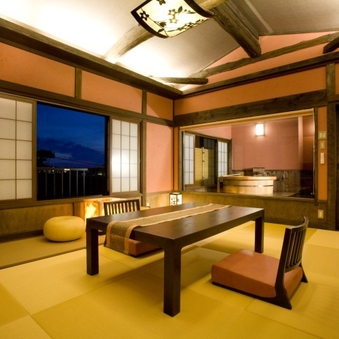 露天付客室「桜桃」
