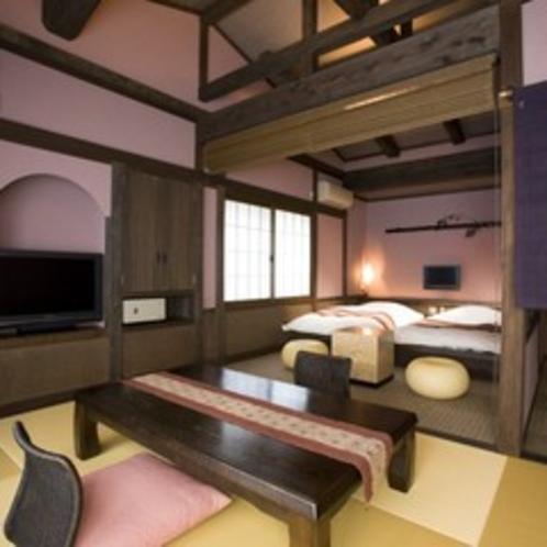 【客室】和ベッド客室 菖蒲