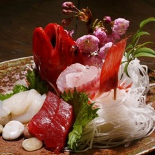 【料理】夕食 お造り 一例
