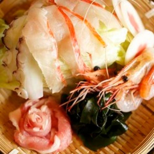 【料理】夕食 豆乳しゃぶしゃぶ