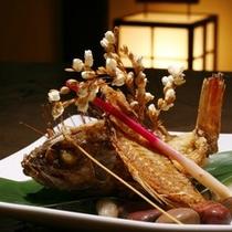 【料理】夕食 揚げ物 一例