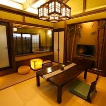 【客室】露天付客室 若竹