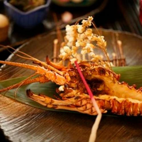 【料理】伊勢えびオニガラ焼