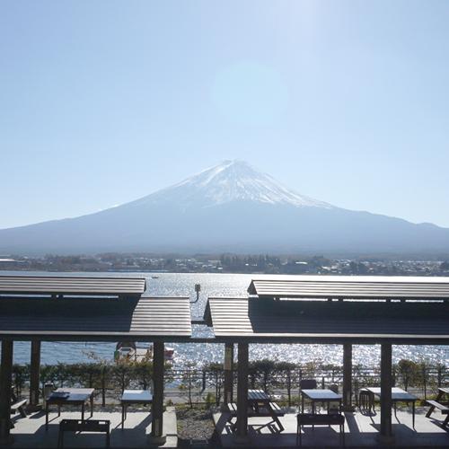 *【バーベキューハウス】河口湖と富士山を望む絶好のロケーション!