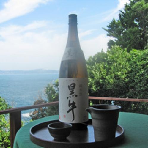 【黒牛】小さな蔵元で手間隙かけて作るこだわりの地酒は、旬のお料理とも相性抜群です。