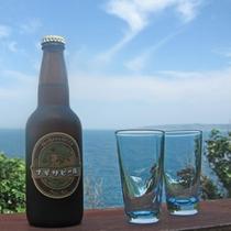 【ナギサビール】白浜の地ビールで、コクがあるのにすっきり飲みやすく、ほのかにホップが香る極上品です。
