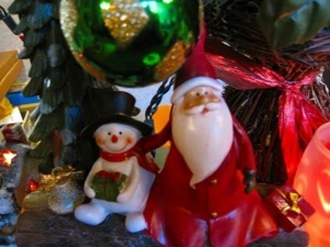 館内飾り(クリスマス)
