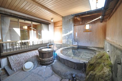 ◆お客様専用露天風呂付き客室◆24時間入浴可能♪