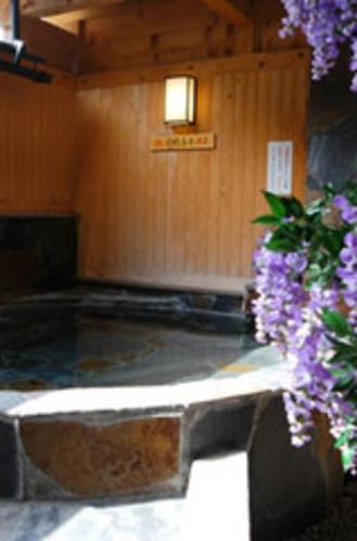 客室露天風呂(例1)