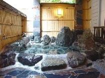 客室露天風呂(例2)