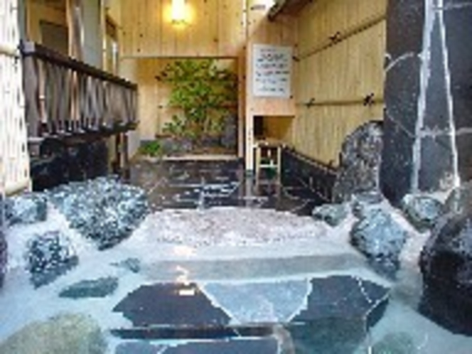 客室露天風呂(例3)
