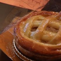 田園プラザ川場に新しくできた『川場プレミアム』のアップルパイ