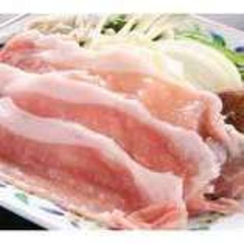 料理(なっとく豚)
