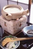 湯の花豆腐