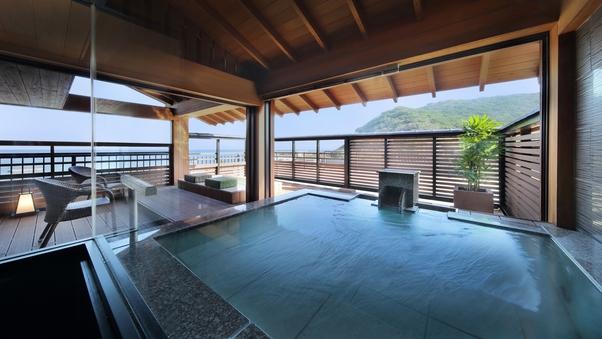 4F 露天風呂付客室(海側12畳) さがにし