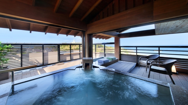 4F 露天風呂付客室(海側12畳) ならい