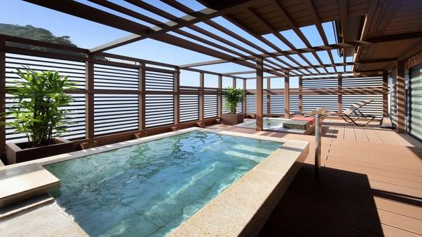 3F 露天風呂付客室(海側12.5畳) ほおじろ