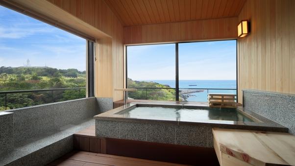 2F 展望風呂付客室(海側12畳) さわらごち