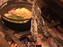 岩魚:イワナの塩焼き