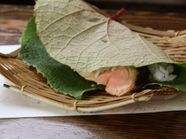 乗鞍郷土食 葡萄:ぶどう寿司 7月8月季節限定の別注品