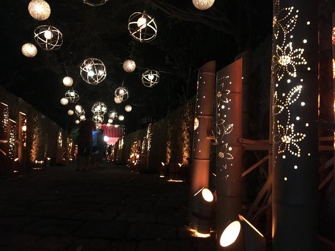 琉球夜祭 天使館