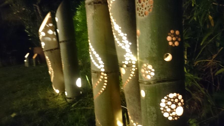 ランタン 竹