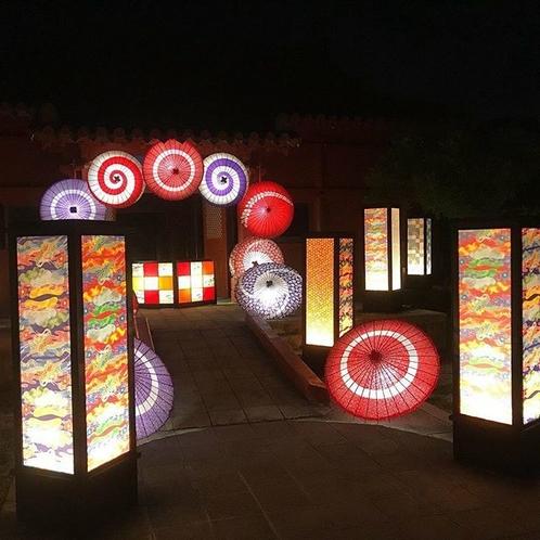 琉球夜祭 園内入り口
