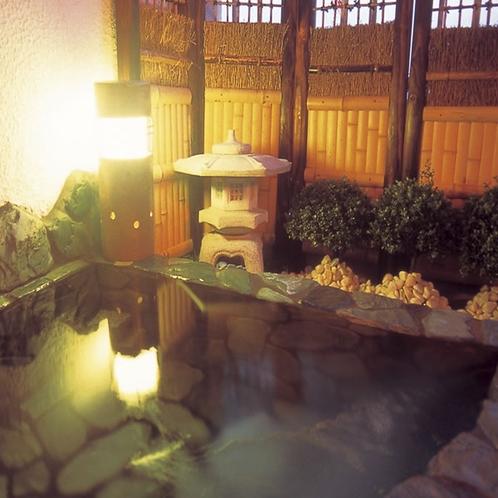 客室天然温泉露天風呂