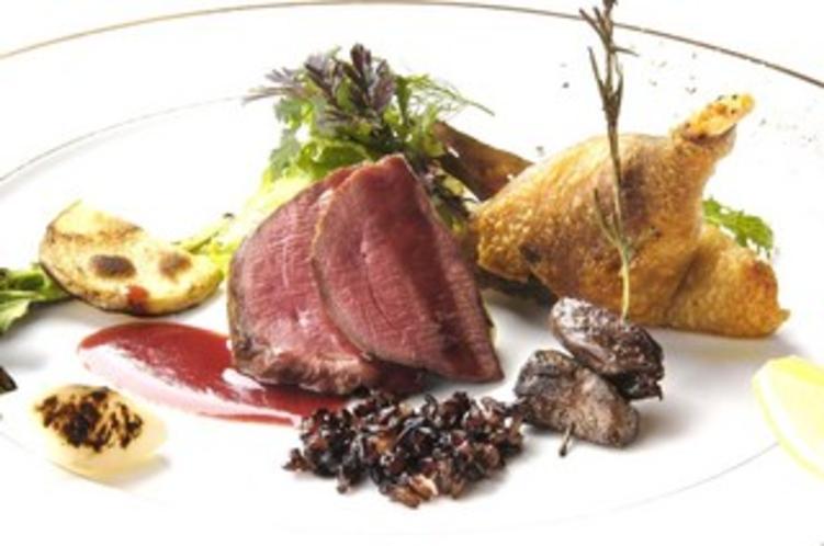 松崎産鴨肉のロティ