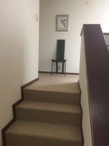 階段から二階