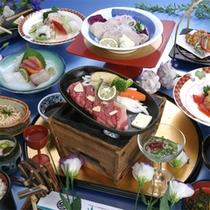 華水和洋会席(お食事例)