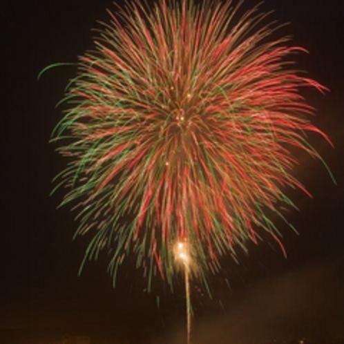 日田川開き観光祭の花火大会