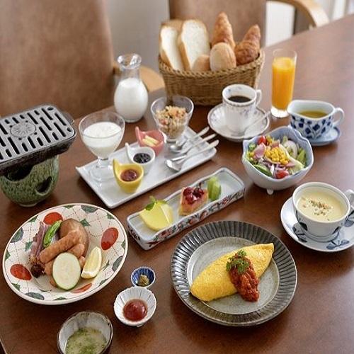 朝食(洋食一例)