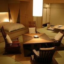露天風呂付和洋室 一例