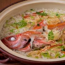 地金目土鍋炊きご飯