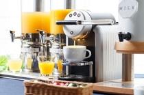 【朝食バイキング】ネスプレッソ