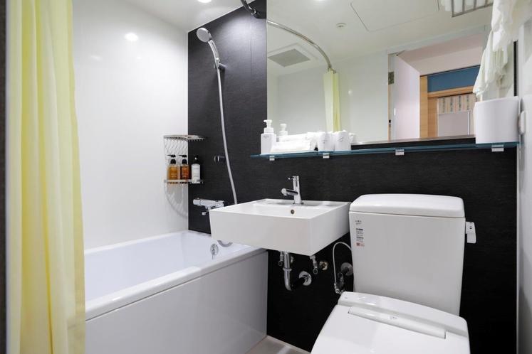 新客室用バスルーム