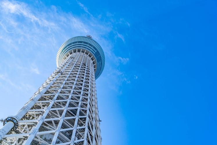 東京スカイツリー(高さ634メートル)