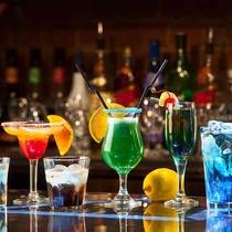 カクテル、アルコール各種50種類以上ご用意