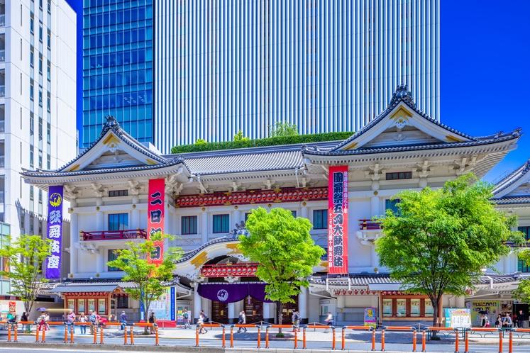 銀座・歌舞伎座
