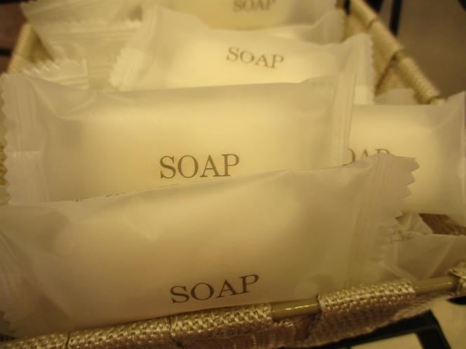 固形石鹸(無料)