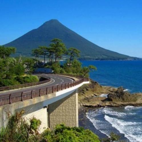 瀬平公園から望む薩摩富士「開聞岳」は絶景です!