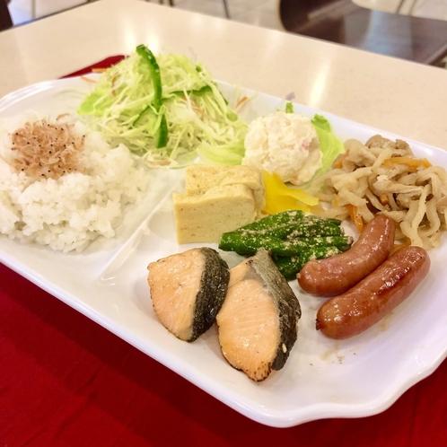 ワンプレート朝食(無料)